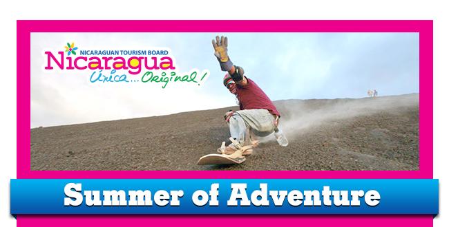 Nicaragua sand boarding
